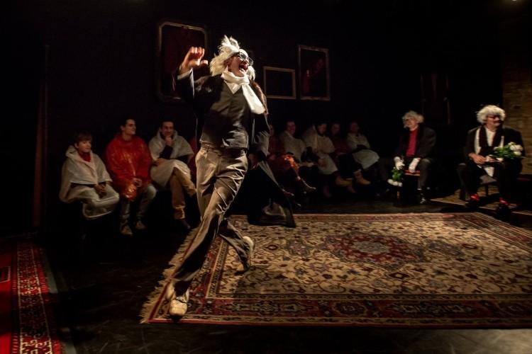"""""""Zryw"""" Teatr Usta Usta Republika / fot.Andrzej Majos"""